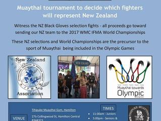 IFMA NZ Black Gloves Team Selection