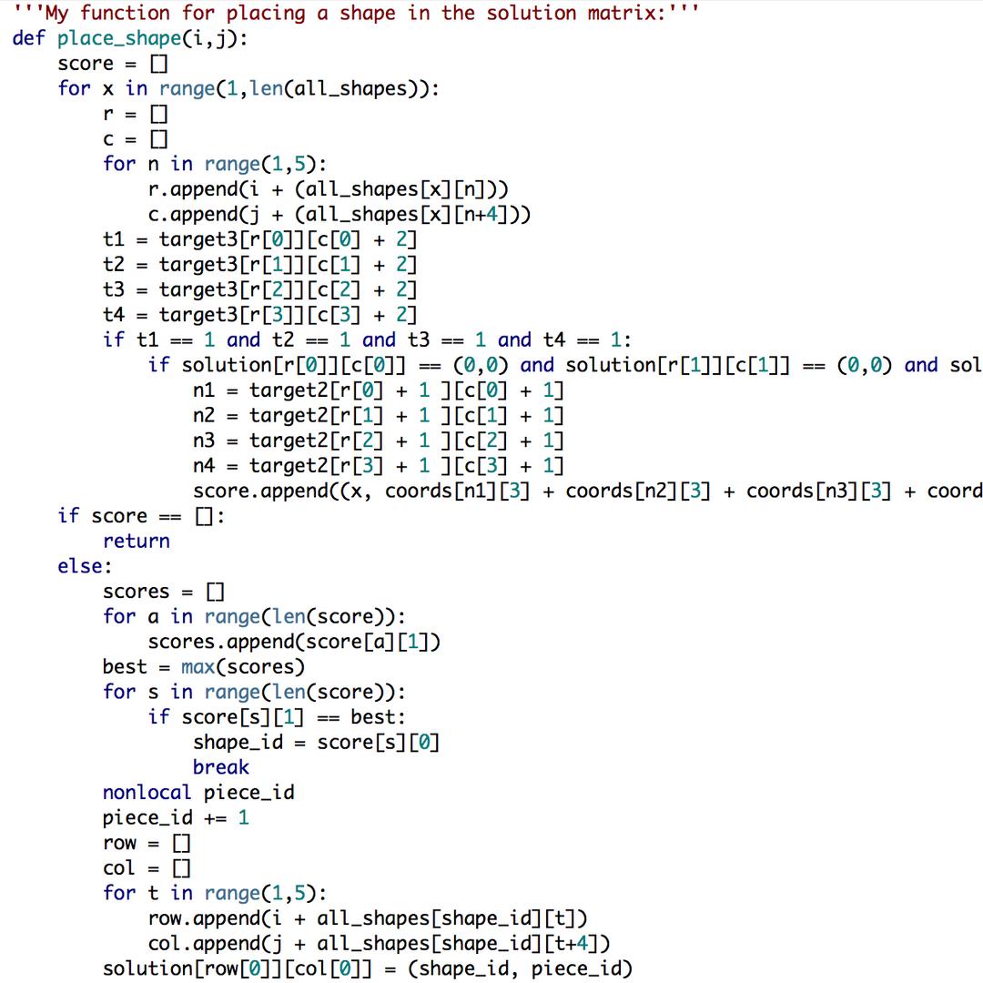 Tetrilling Code Sample.png