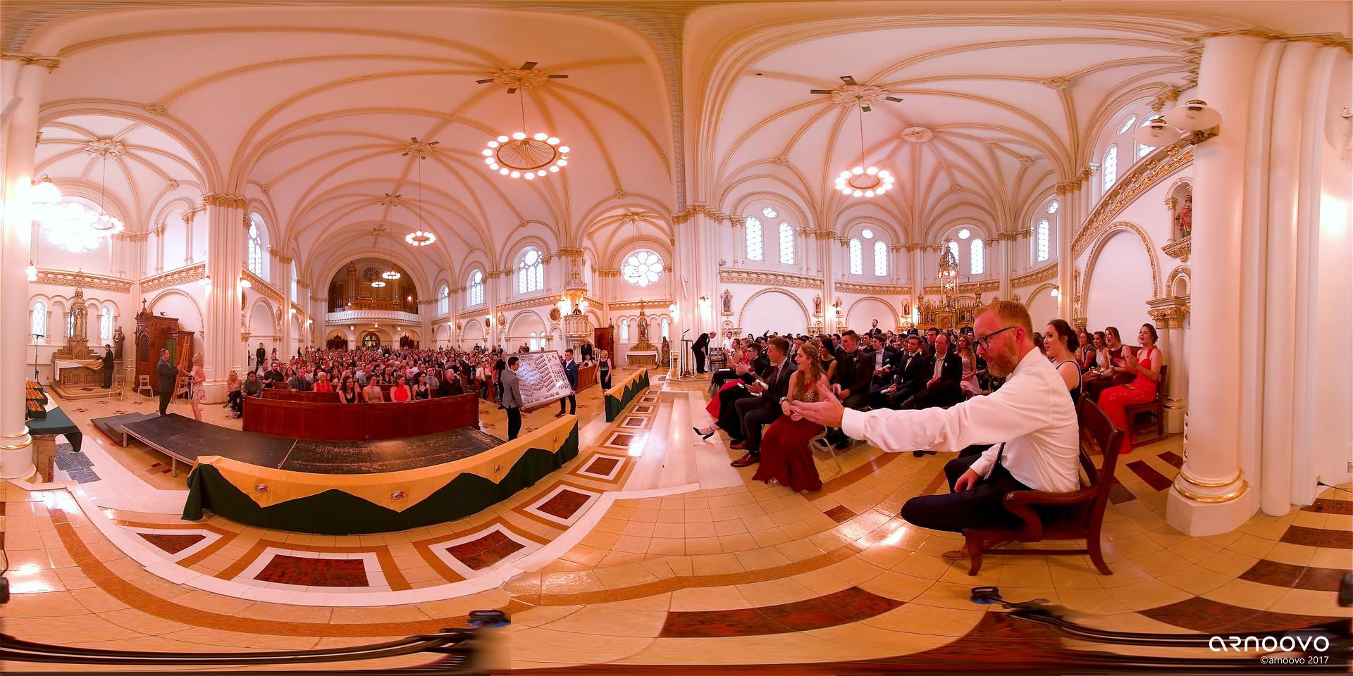 GRADUATION CEREMONY: SÉMINAIRE SAINT-JOSEPH | Chapel of the Séminaire Saint-Joseph, Trois-Rivières (QC)
