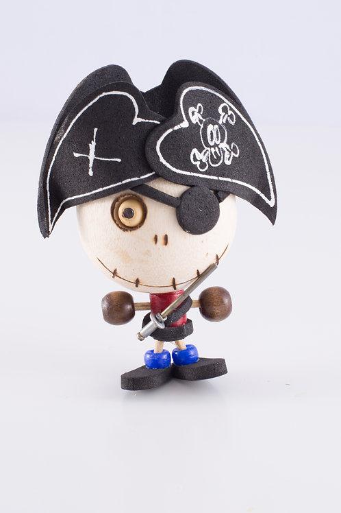 Mini Rubber Pirate