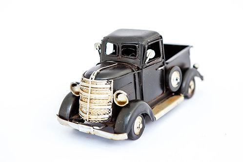 Black Metal Truck