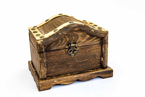 Wood Treasure Chest