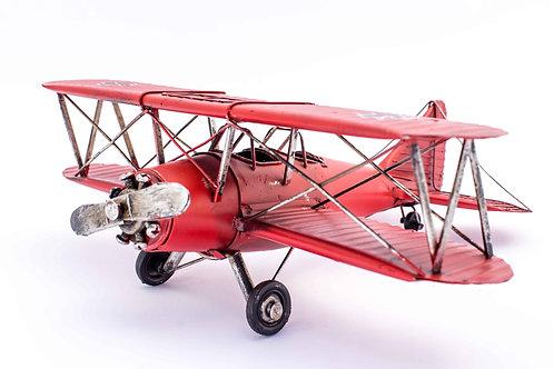 Metal Vintage Airplane