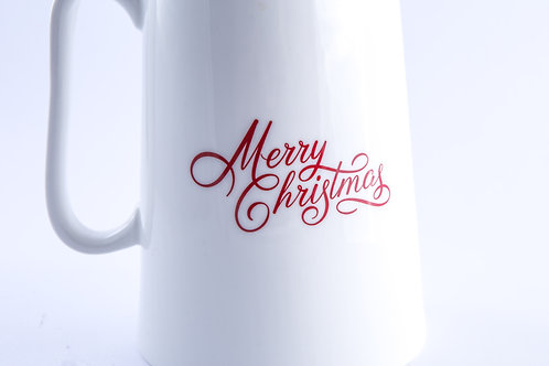 Christmas Pitcher