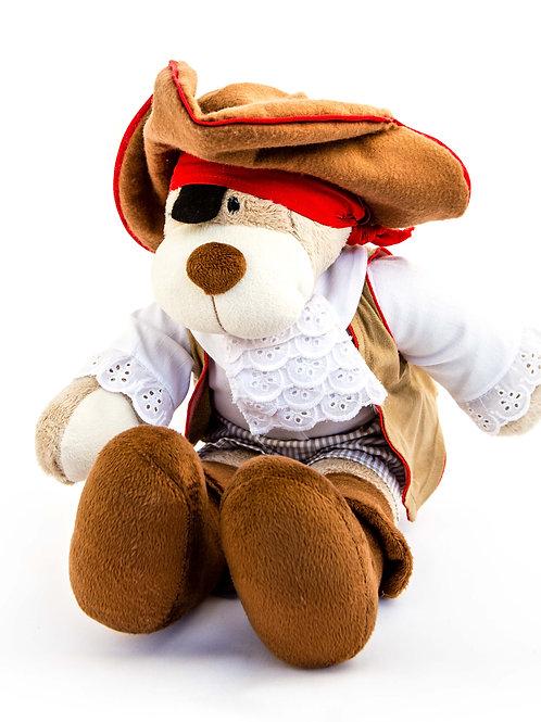 Stuffed Pirate Dog