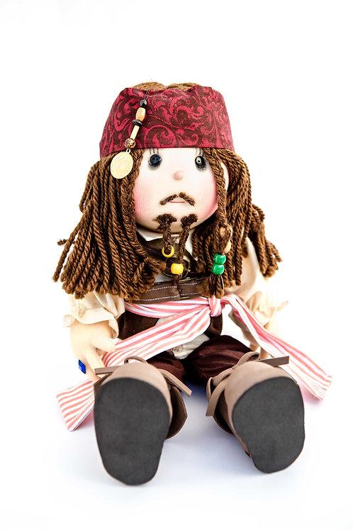 "Jack Sparrow Stuffed Decoration 8"""