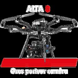 Drone pour opérateur drone cinéma, cadreur caméra pour tournage film. Drone gros porteur caméra de cinéma