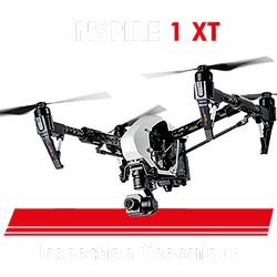 Drone pour inspection thermique aérienne