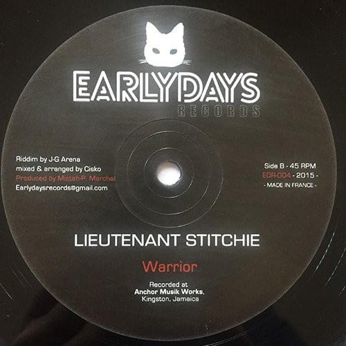 Lieutenant Stitchie - Warrior