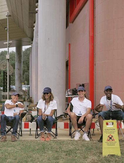 Equipe Sentinel drone en Guyane