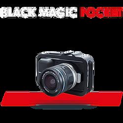Caméra Black Magic Pocket pour tournage film et TV pour notre cadreur caméra