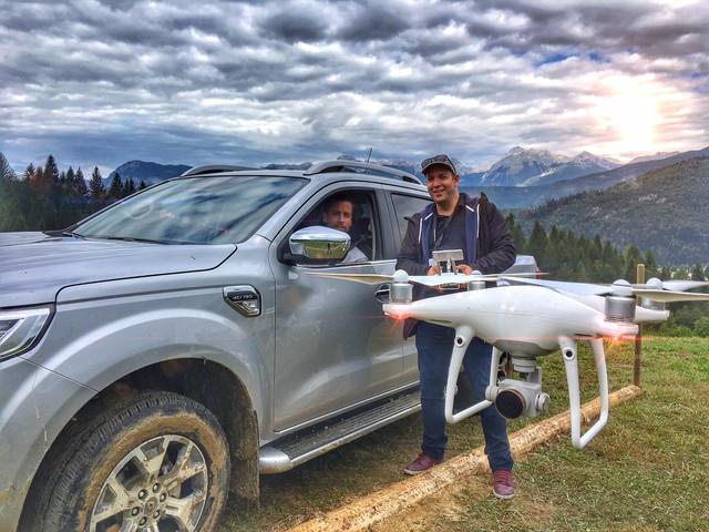 Démo Journaliste - Renault Alaskan (Slovénie)