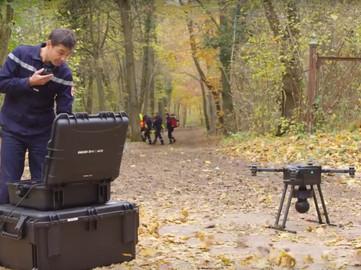 Réalisation vidéo - Drone Volt - Drone de recherche