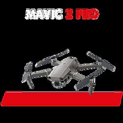 Drone Mavic 2 Pro pour pilote de drone pour tournage film institutionnel, repérages, photogrammétrie