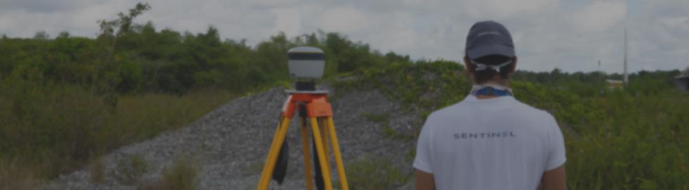 Levés topographiques par photogrammétrie en Guyane, Martinique et Guadeloupe par Sentinel drone.