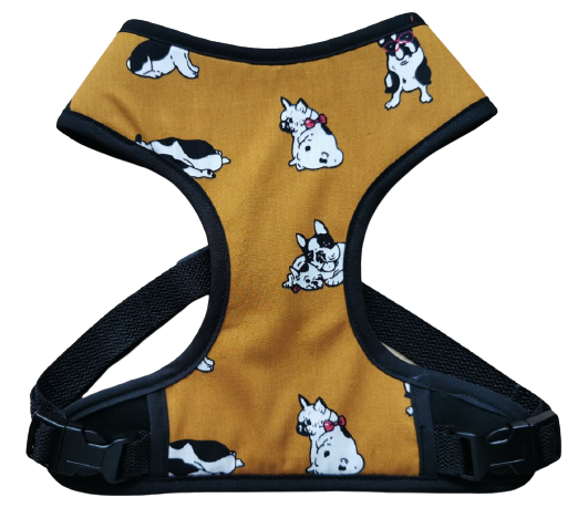 Harness 01 - Dogs on brown