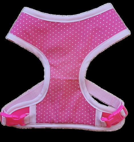 Harness 01 -  Pink polka-dot