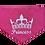 Thumbnail: Bandana - Princess and Crown on pink