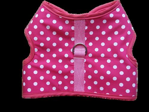 Harness 02 - Pink Polka - dot