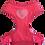 Thumbnail: Harness 01 - Rhinestone heart