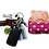 Thumbnail: Poop bag holder - Pink Polka - dot