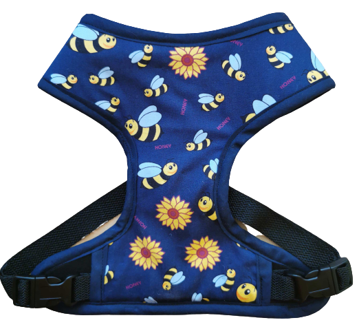 Harness 01 -  Busy bee /  Blue