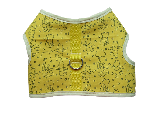 Harness 02 - Winnie the pooh on yellow