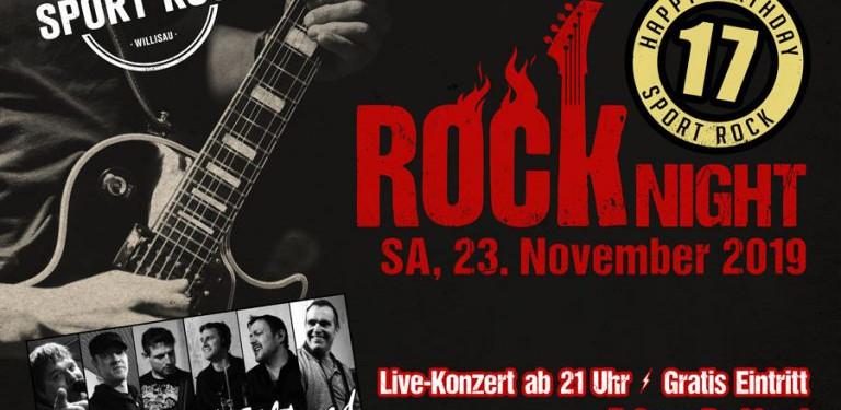 Nächster Gig - SA 23.11.2019 Sport Rock Café Willisau