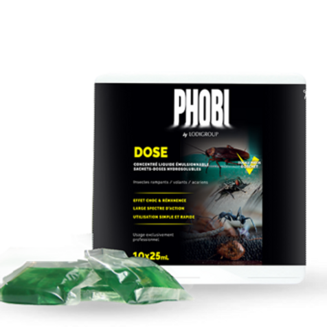 Phobi Dose - Usage trictement professionel