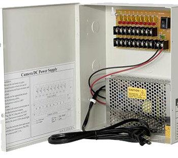 12VDC/5Amps 9 PTC OUTPUT POWER SUPPLY BOX