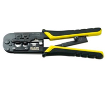 Klein Tools Ratcheting Modular Crimper and Strippe