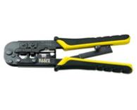 Klein Tools Ratcheting Modular Crimper/Stripper