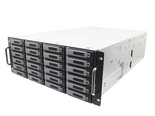 4U Rack-Mount IP Server 32TB HOT-SWAP RAIDS