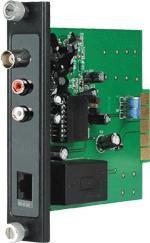 """19"""" Rack Card 1 Channel Passive AV Receiver"""