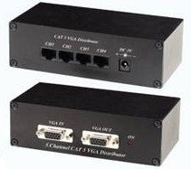 CAT5 VGA 1 Input to 5 Output Distributor