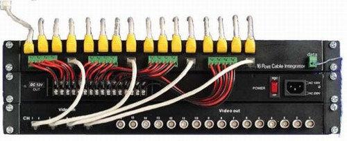 16 Port Cable Integrator Set (Video, Power, Data)