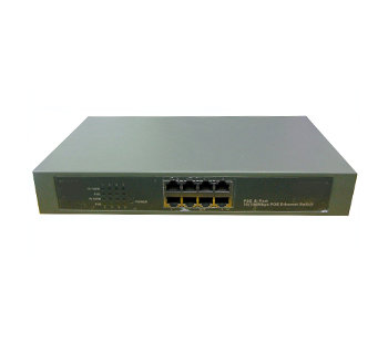 8-PORTS 10/100MBPS BASE-T POE SWITCH