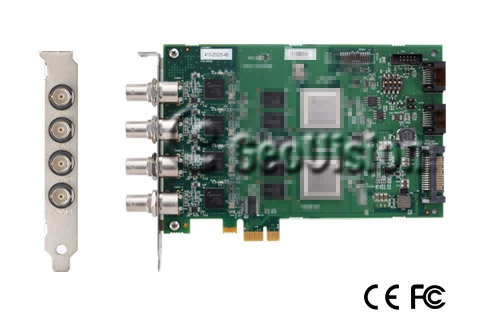 HD-SDI Video Capture Card, 4 channel, PCIE