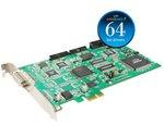 8ch hybrid DVR card (PCI-E), 240fps/8ch