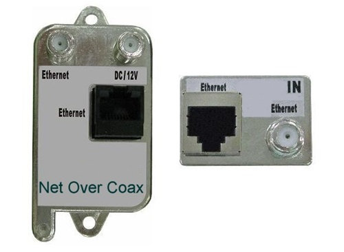 Ethernet (Video) Over Co-Axial Transmitter and Rec