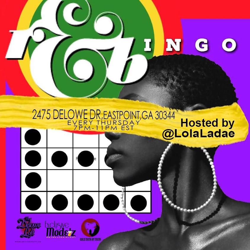 R&Bingo Hosted by Lola Ladae