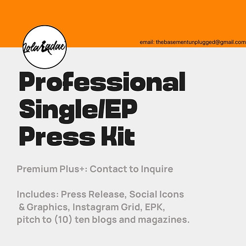 Professional Press Kit - Prem+