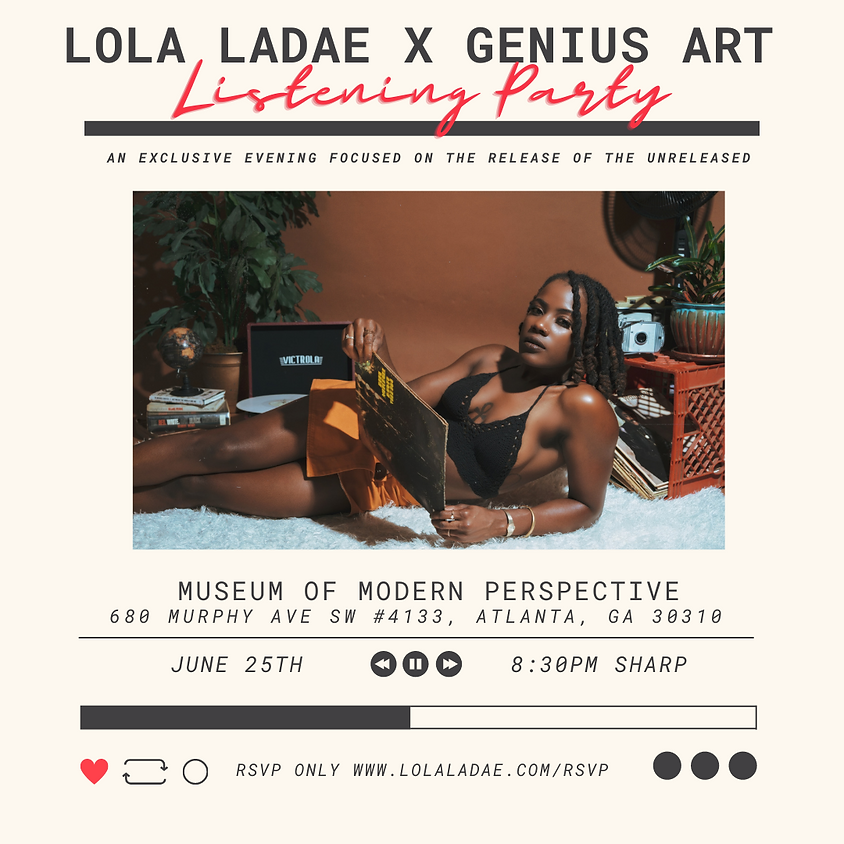 The Listening Party (Vendors)