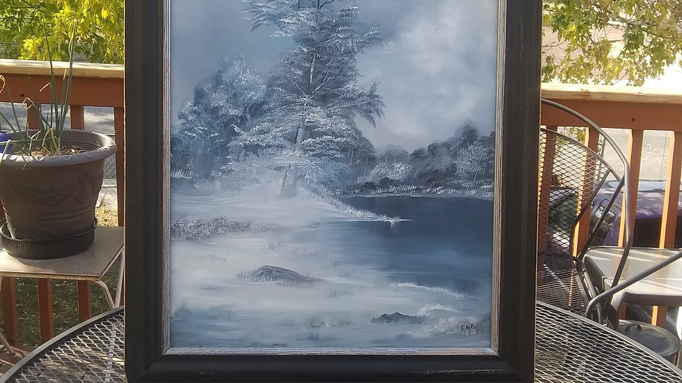 WInter Frost, by Lin Eno