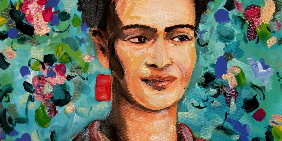 Lets Paint Frida Kahlo