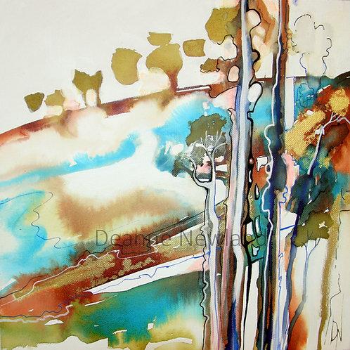 """Coastal Heathland"" Limited Edition 1/50 Giclee fine Art Print"