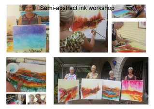 More workshops at the Artistic Soul Studio.