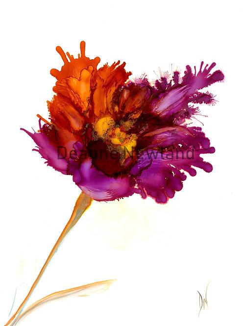 """""""Flower 1"""" Giclee Fine Art print"""