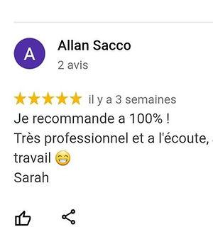 Avis Allan Sacco