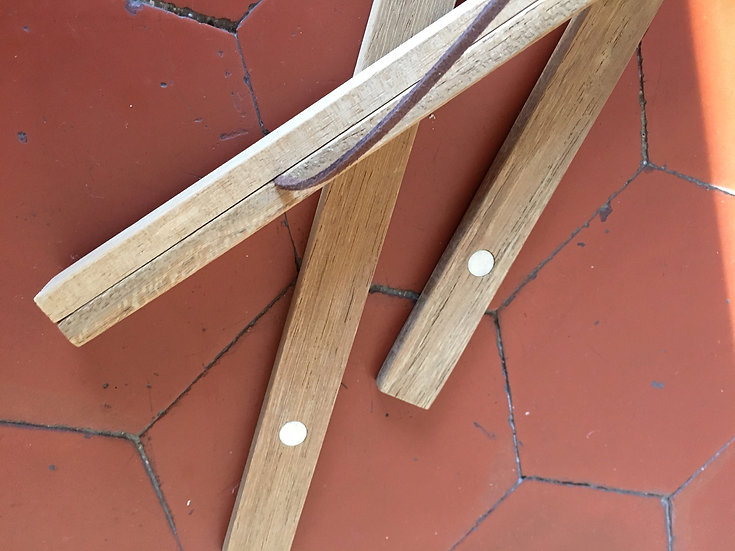 Accroche pinces en bois aimantées petit format